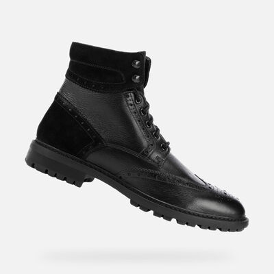 DEMI-BOTTES HOMME GEOX BRENSON HOMME