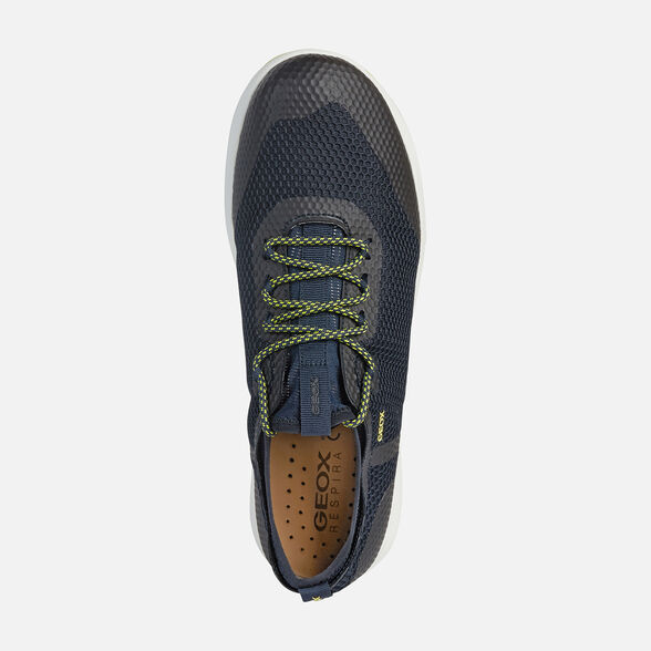 Distracción Indirecto Kosciuszko  Geox NEBULA X Man: Navy blue Sneakers | Geox® Nebula