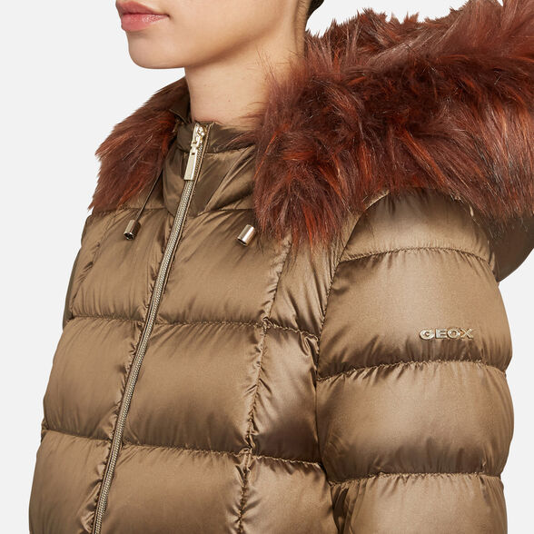 WOMAN DOWN JACKETS GEOX BLENDA WOMAN - 9