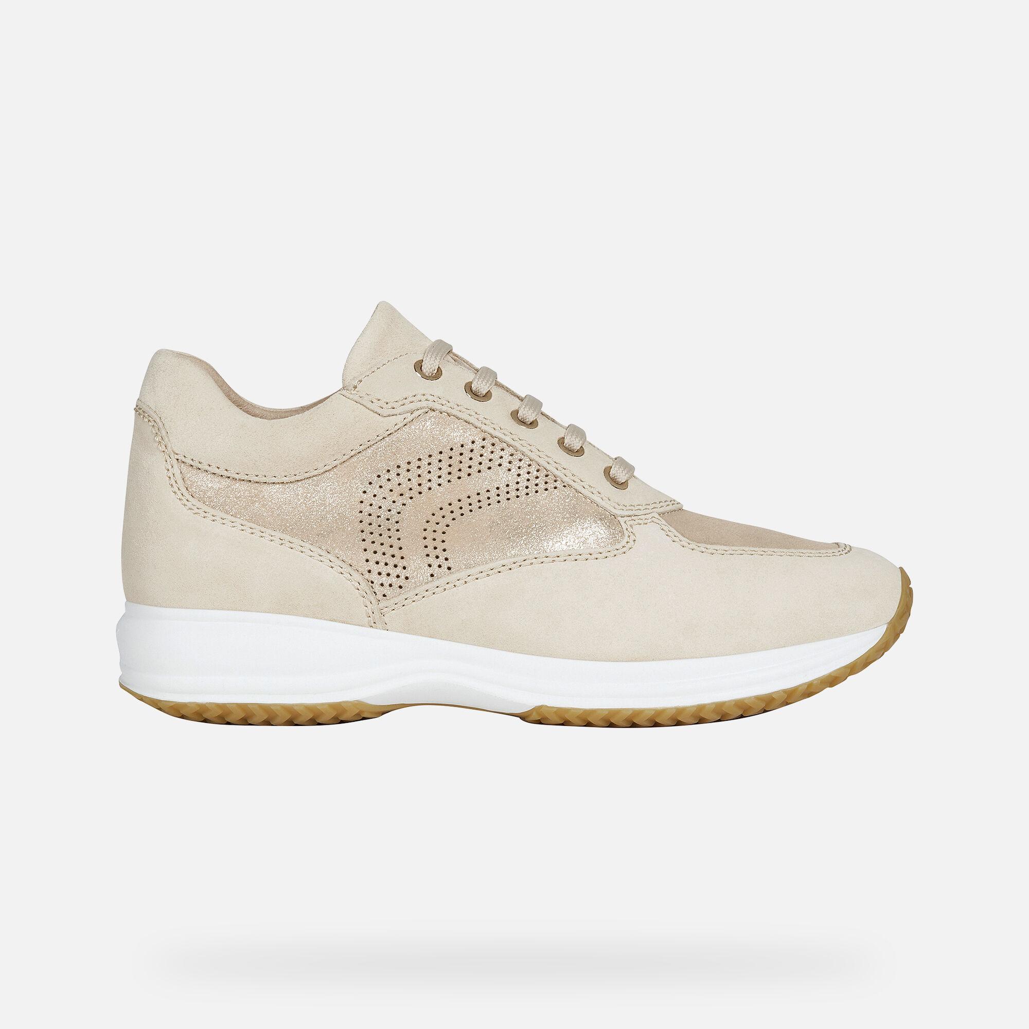 Geox sneakers Geox happy beige