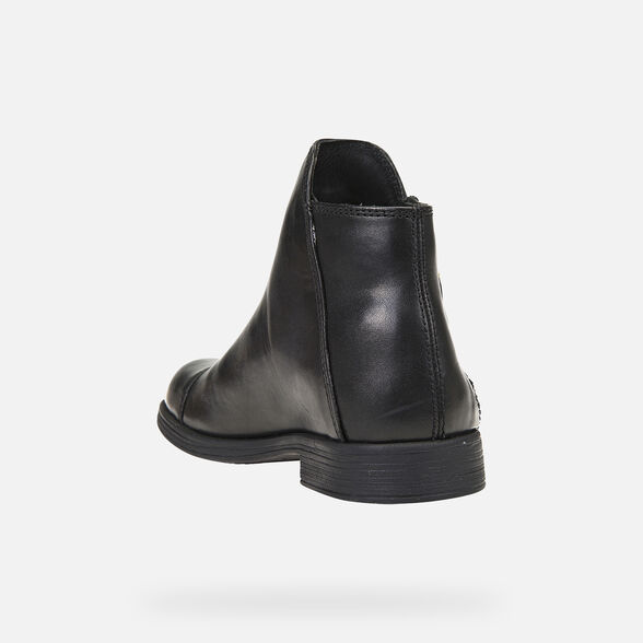 GIRL ANKLE BOOTS GEOX AGATA GIRL - 4