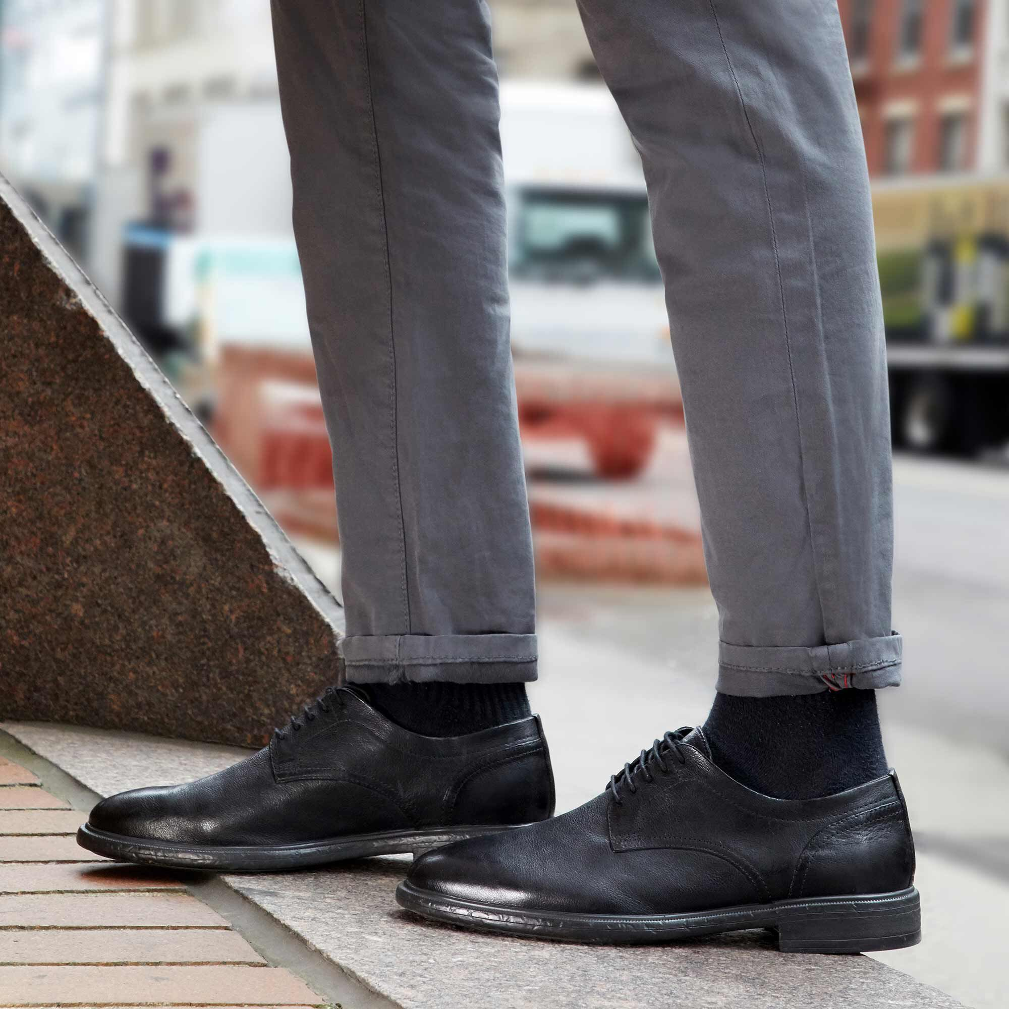 Geox TERENCE Man: Black Shoes   Geox ® FW 1920