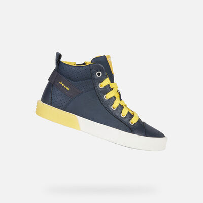 b1b2414dee HIGH TOP BOY GEOX ALONISSO BOY