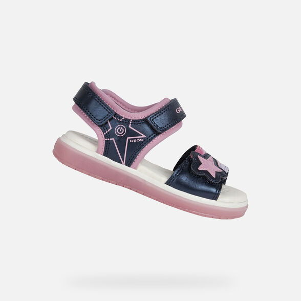 LIGHT-UP SHOES GIRL GEOX BLIKK GIRL - 1