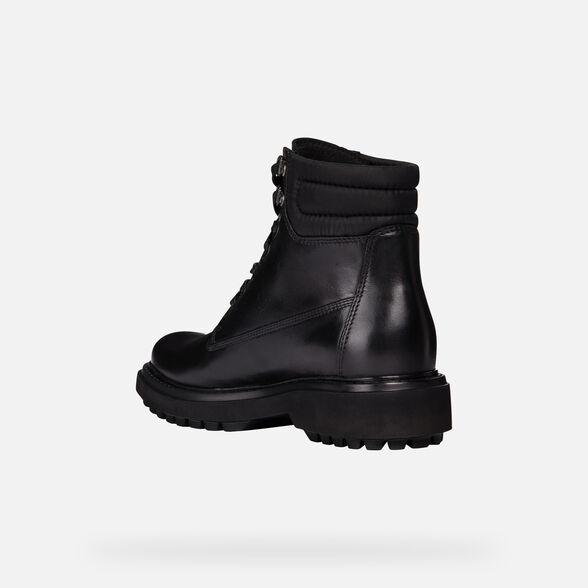 Moler Amabilidad Existe  Geox ASHEELY NP ABX Woman: Black Ankle Boots | Geox® FW20/21