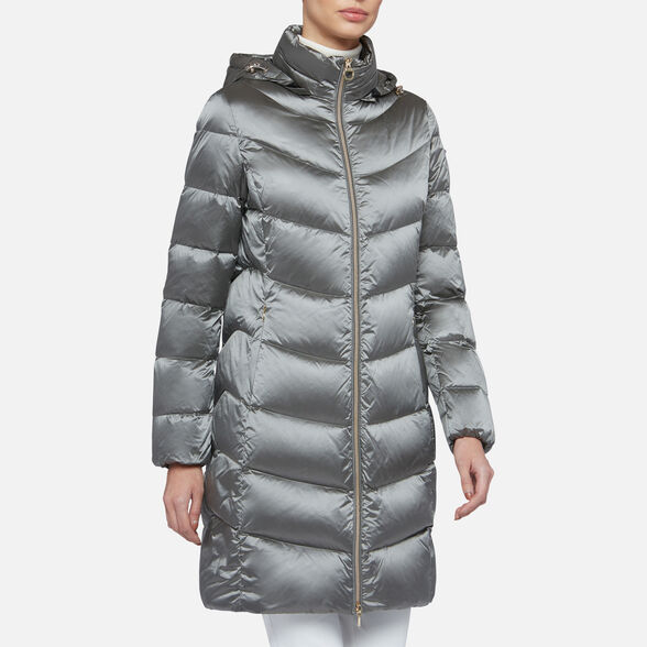 Charlotte Bronte Continuo minusválido  ADRYA WOMAN - DOWN JACKETS from girls | Geox