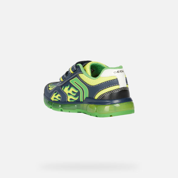 LIGHT-UP SHOES BOY GEOX ANDROID BOY - 4