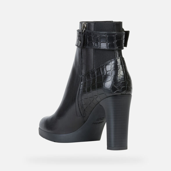 ANKLE BOOTS WOMAN GEOX ANNYA WOMAN - 4
