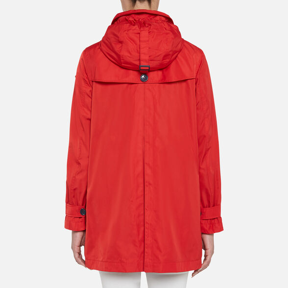 WOMAN OVERCOAT GEOX AIRELL WOMAN - 6