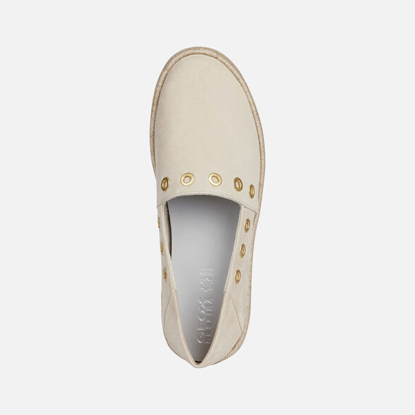 SNEAKERS WOMAN GEOX MODESTY WOMAN - SAND