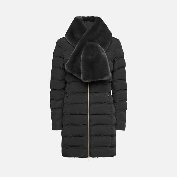 DOWN JACKETS WOMAN GEOX ELISKA WOMAN - 1