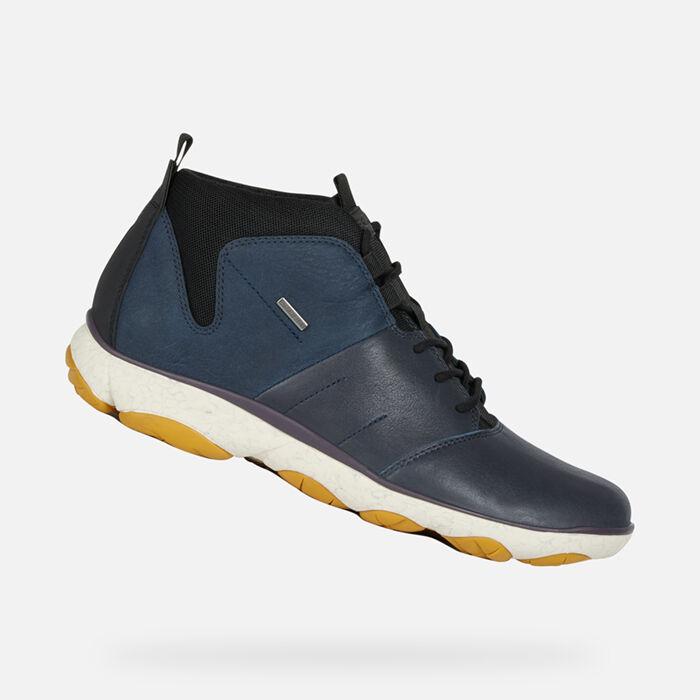 Homme Homme Imperméables Imperméables Chaussures AmphibioxGeox Chaussures Technologie 80kZnPONwX