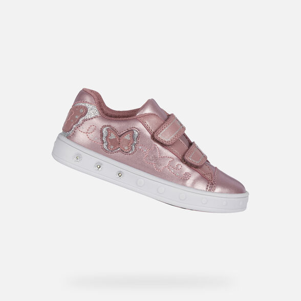 CHAUSSURES LED FILLE GEOX SKYLIN FILLE - 1
