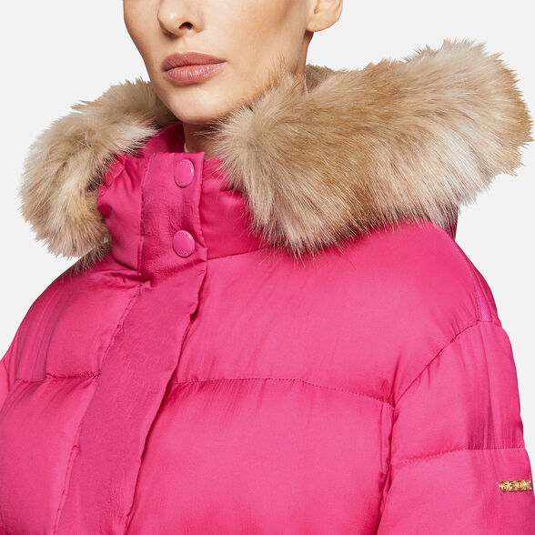 DOWN JACKETS WOMAN GEOX EMALISE WOMAN - 9