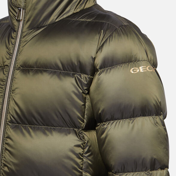 VESTES FILLE GEOX HIMALAYA FILLE - VERT MILITAIRE CHATOYANT