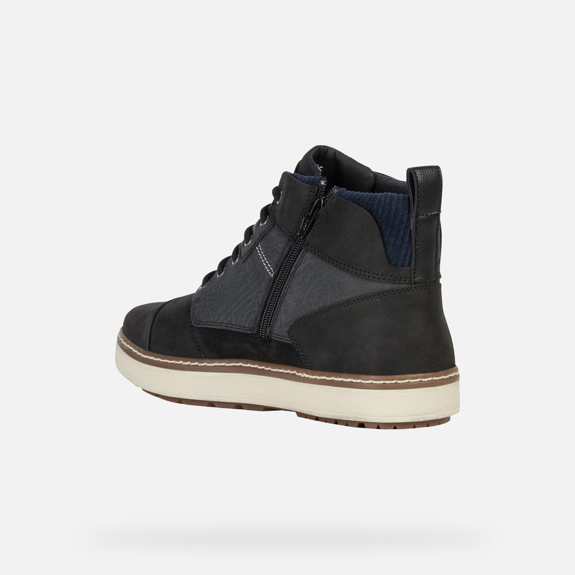 Geox MATTIAS B ABX Uomo Sneakers Alte Nere | Geox ® FW 1920