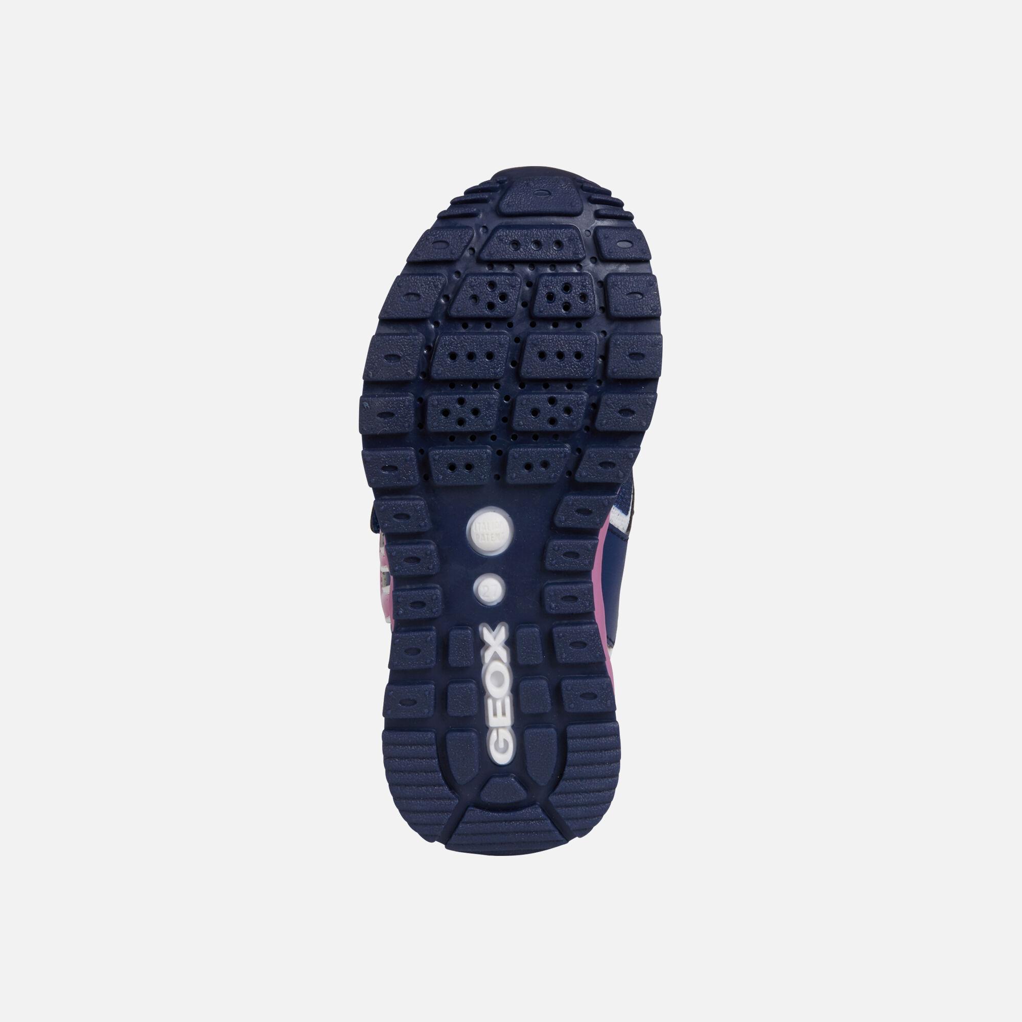 Geox Kids Pavel Girl 2 Sport Sneaker Sneakers Exercise & Fitness