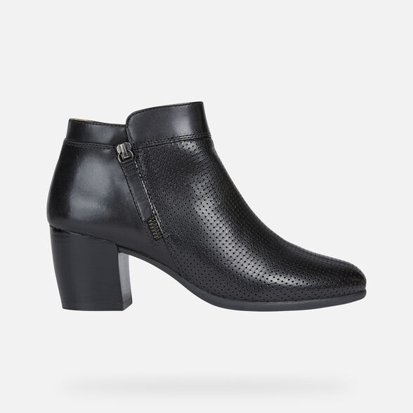 WOMAN ANKLE BOOTS GEOX NEW LUCINDA WOMAN - 2