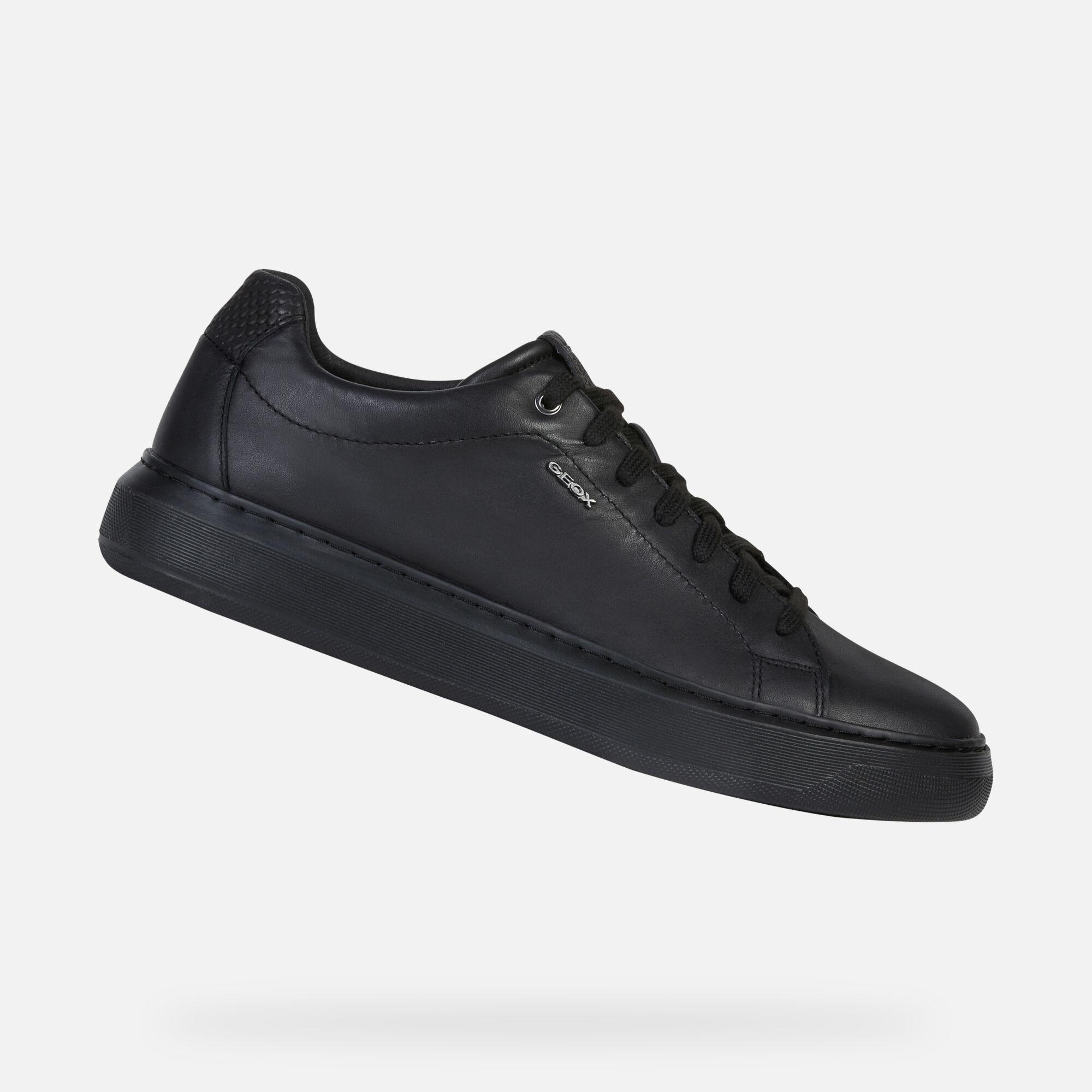 geox sneakers black