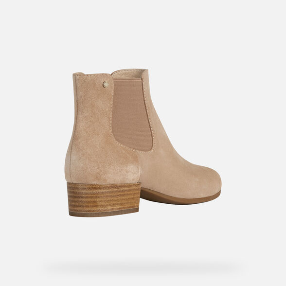 WOMAN ANKLE BOOTS GEOX PEYTHON WOMAN - 5
