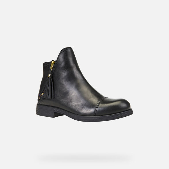 GIRL ANKLE BOOTS GEOX AGATA GIRL - 3