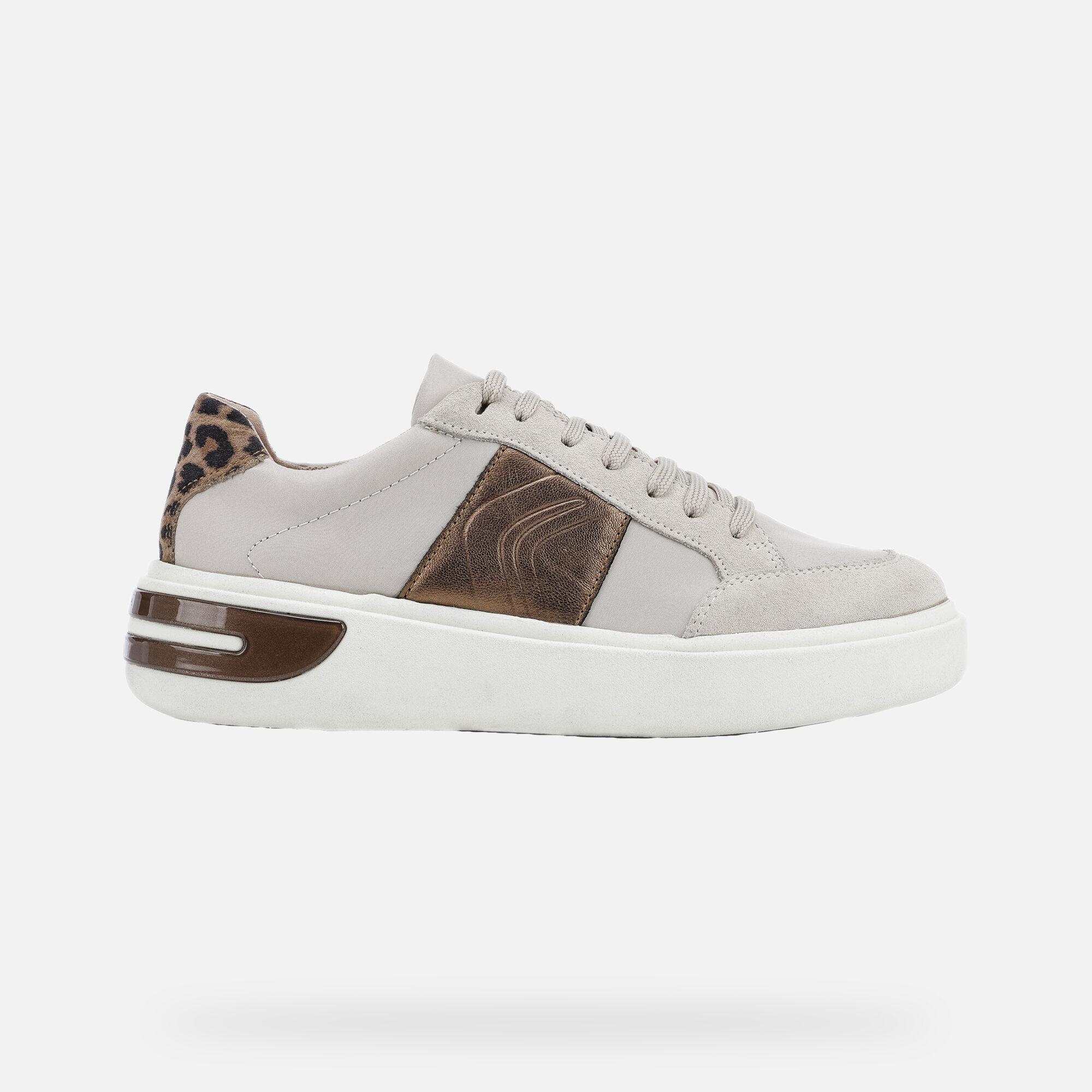 Geox OTTAYA Donna: Sneakers Basse Crema | Geox FW1920
