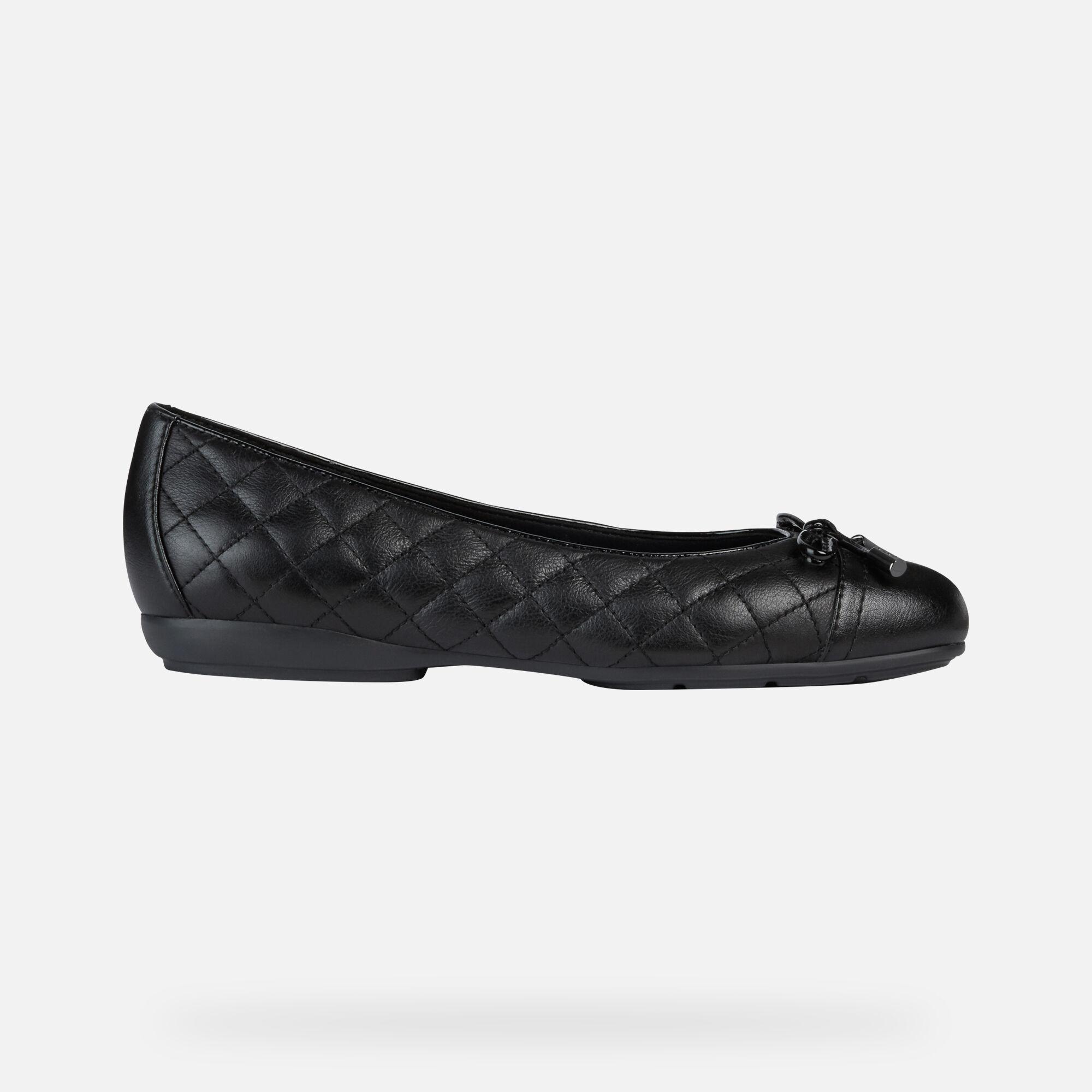 Geox Chaussures D ANNYTAH Ballerines Noires Femme   Geox