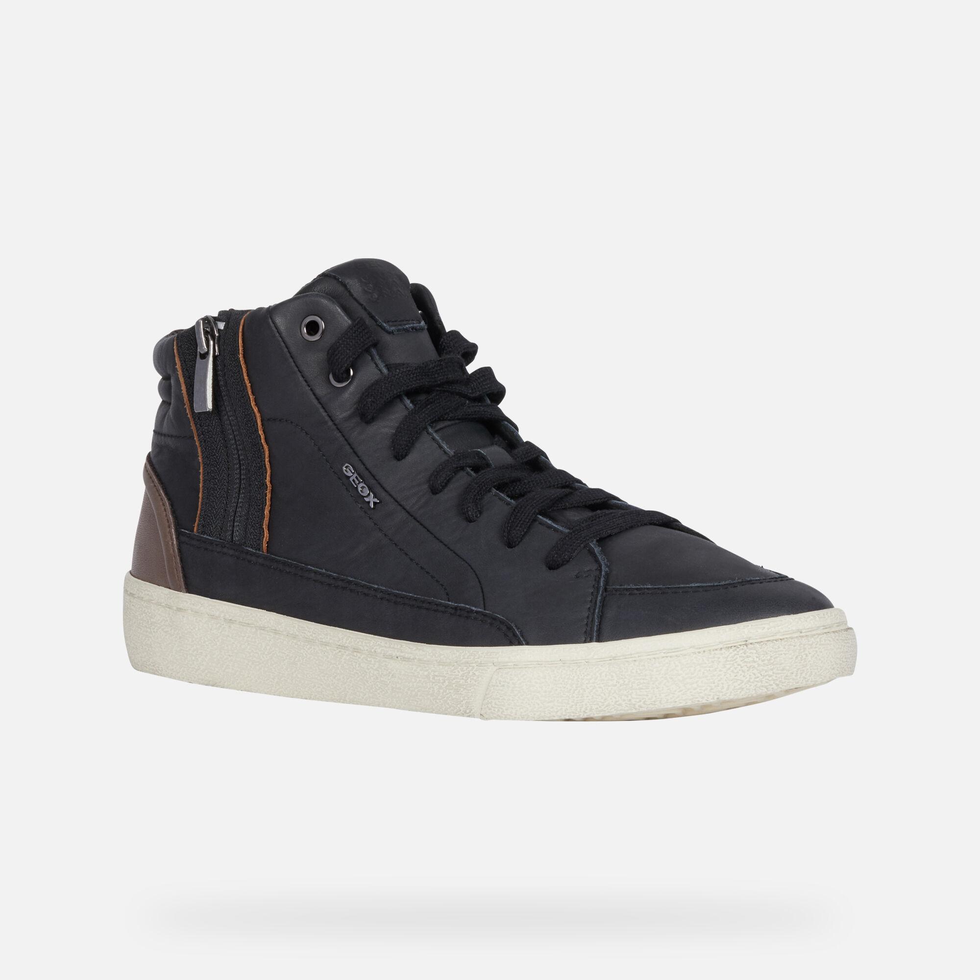 Geox WARLEY Man Black Sneakers | Geox