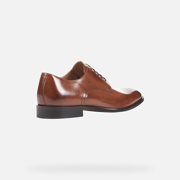 MAN FORMAL SHOES GEOX SAYMORE MAN - 5