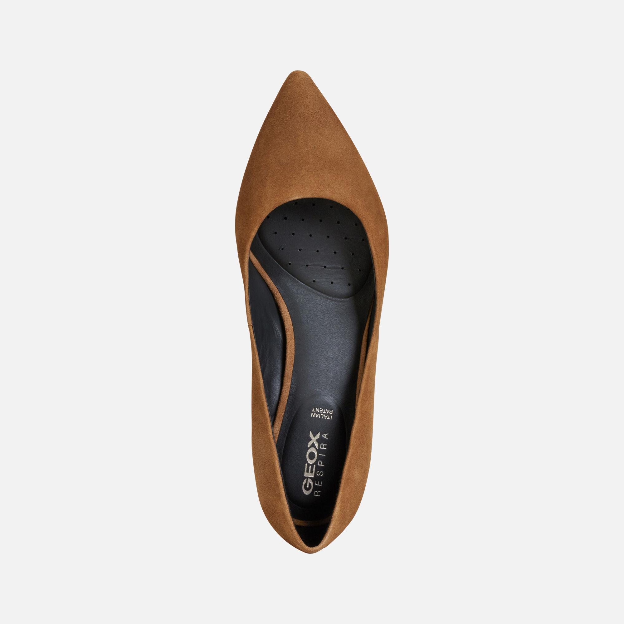 Geox BIBBIANA Femme Chaussures Tabac   Geox ® 1920