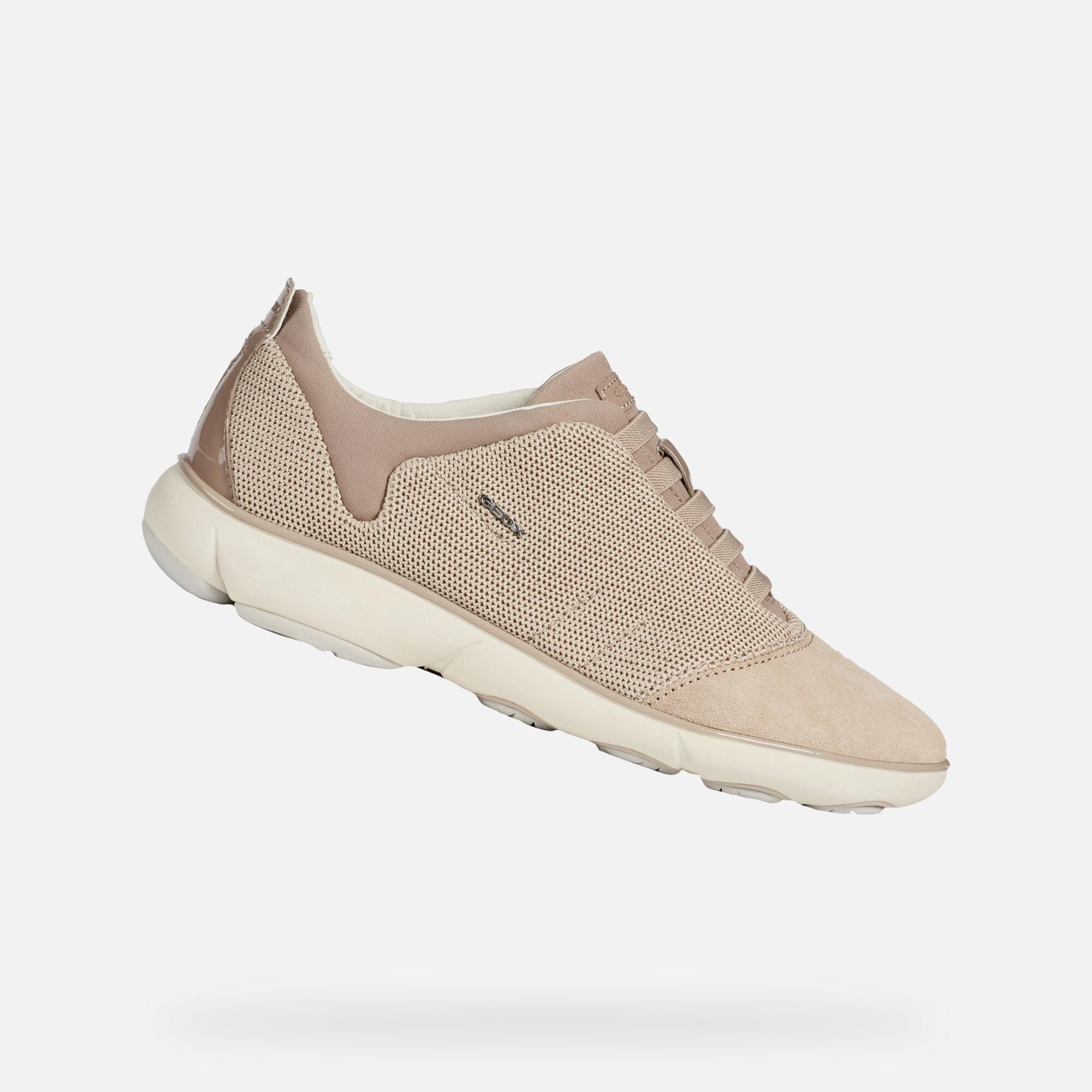 Geox NEBULA Woman: Beige Sneakers