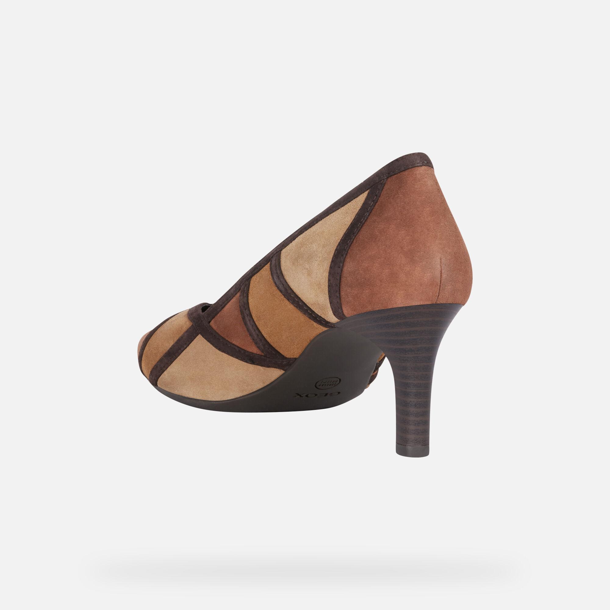 Geox BIBBIANA Donna: Scarpe con tacco Ruggine   Geox ®