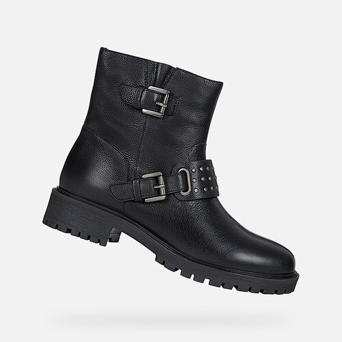 ANKLE BOOTS WOMAN GEOX HOARA WOMAN - null