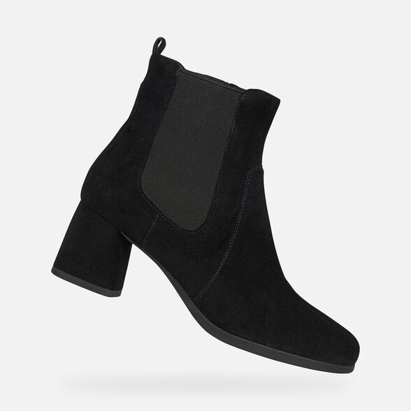 WOMAN ANKLE BOOTS GEOX CALINDA WOMAN - 1