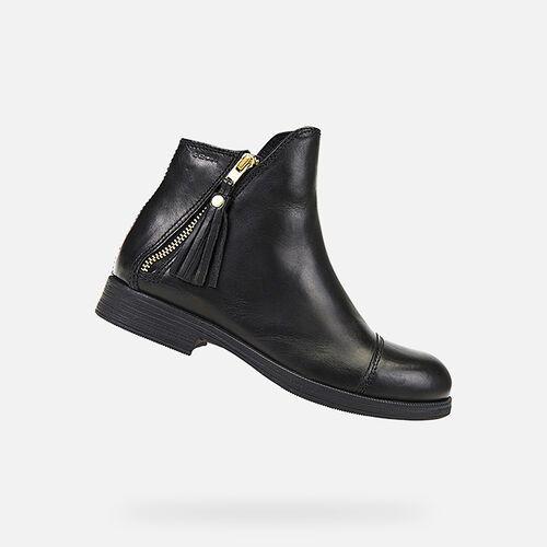 ANKLE BOOTS GIRL GEOX AGATA GIRL - null