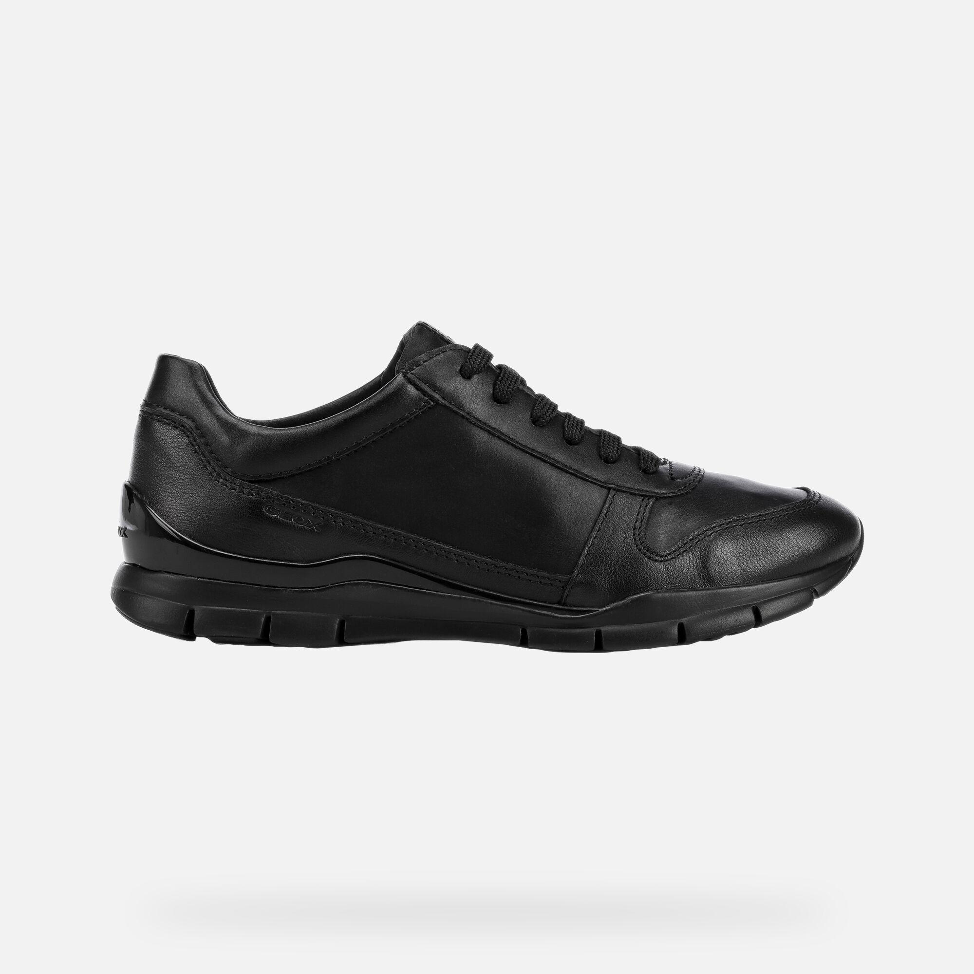Geox SUKIE Woman: Black Sneakers   Geox
