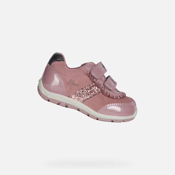 LOW TOP BABY GEOX SHAAX BABY GIRL - 1