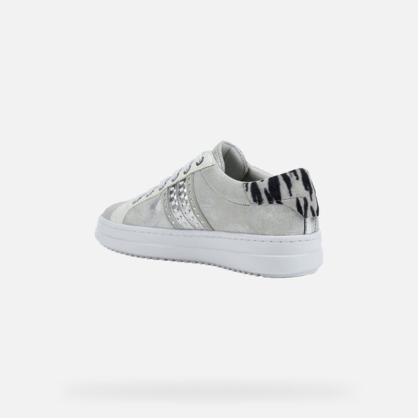 WOMAN SNEAKERS GEOX PONTOISE WOMAN - 4