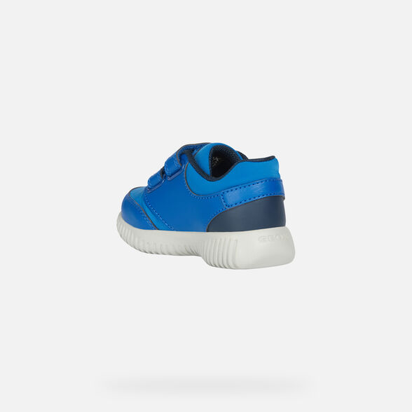 LOW TOP BABY GEOX WAVINESS BABY BOY - 4