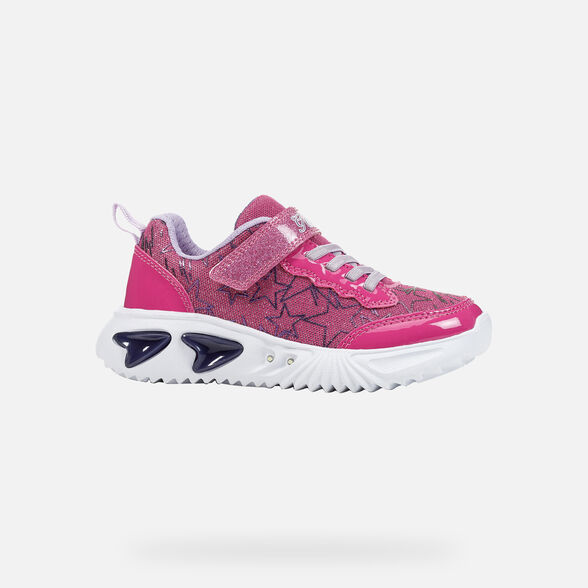 GIRL LIGHT-UP SHOES GEOX ASSISTER GIRL - 2