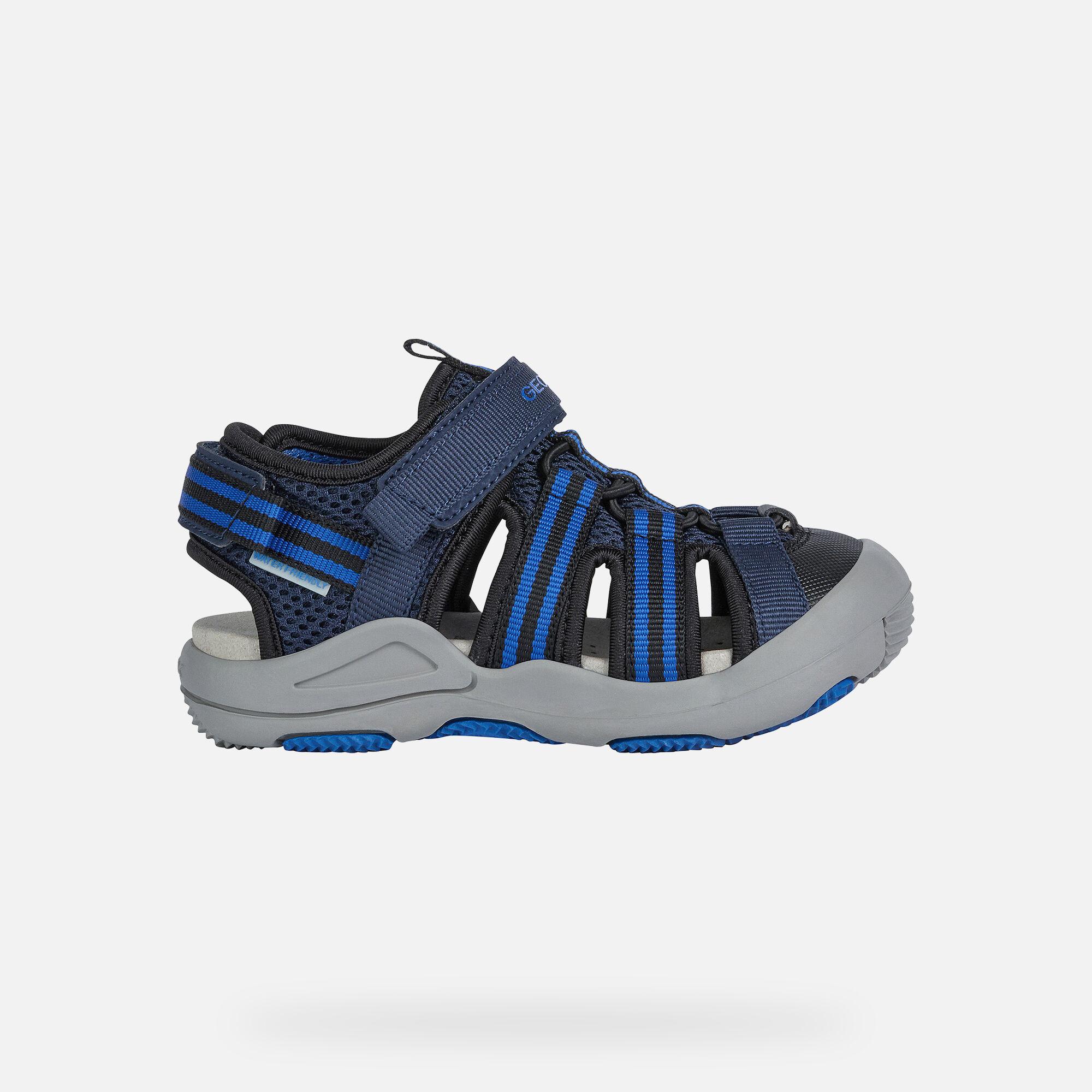 Geox KYLE Boy: Navy Sandals | Geox SS20