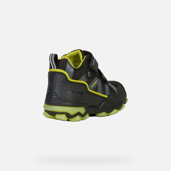 LIGHT-UP SHOES BOY GEOX BULLER ABX BOY - 5