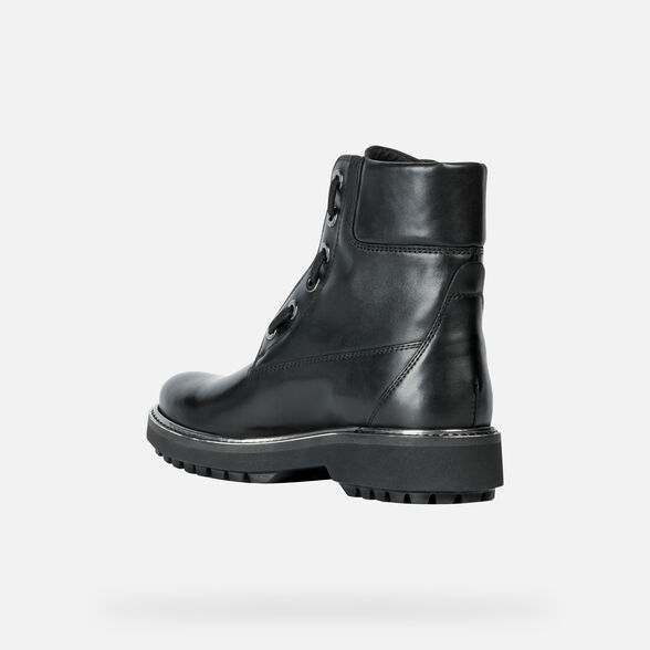 ANKLE BOOTS WOMAN GEOX ASHEELY PLUS WOMAN - 4