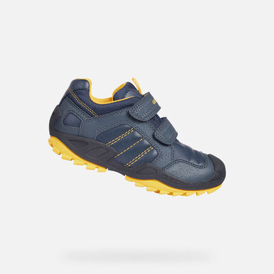 SNEAKERS BAMBINO GEOX NEW SAVAGE BIMBO
