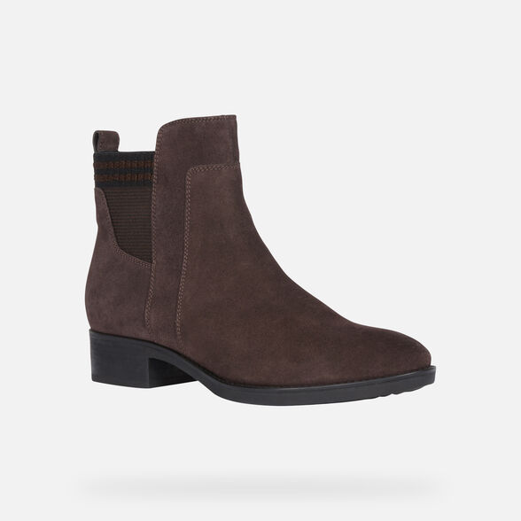ANKLE BOOTS WOMAN GEOX FELICITY WOMAN - 3