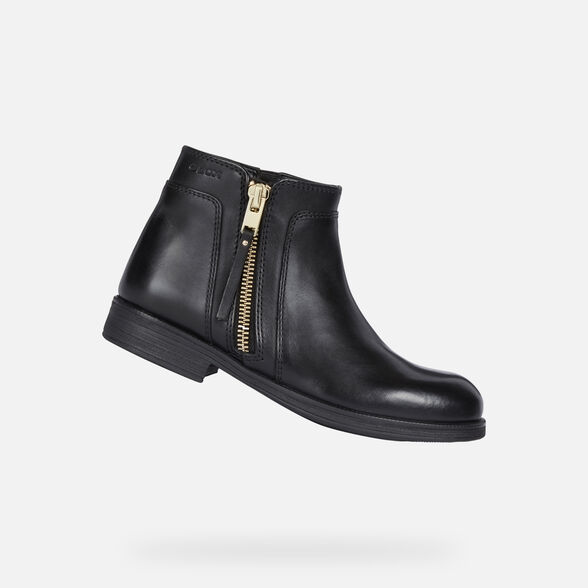 ANKLE BOOTS GIRL GEOX AGATA GIRL - 1