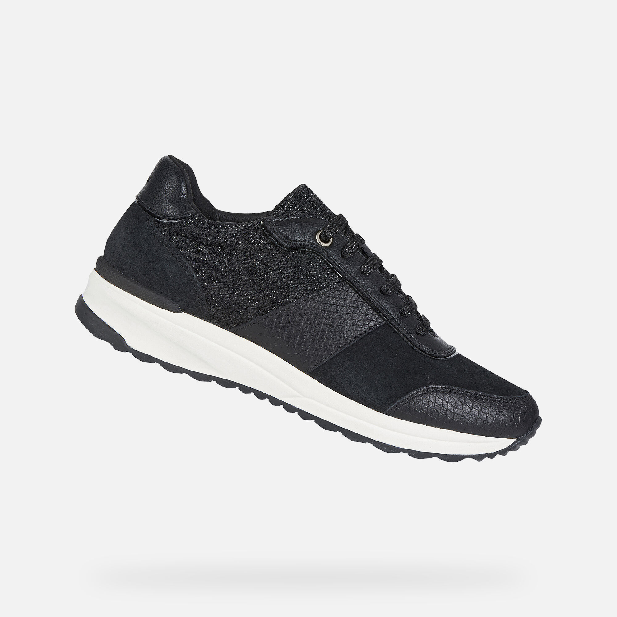 Geox AIRELL Woman: Black Sneakers