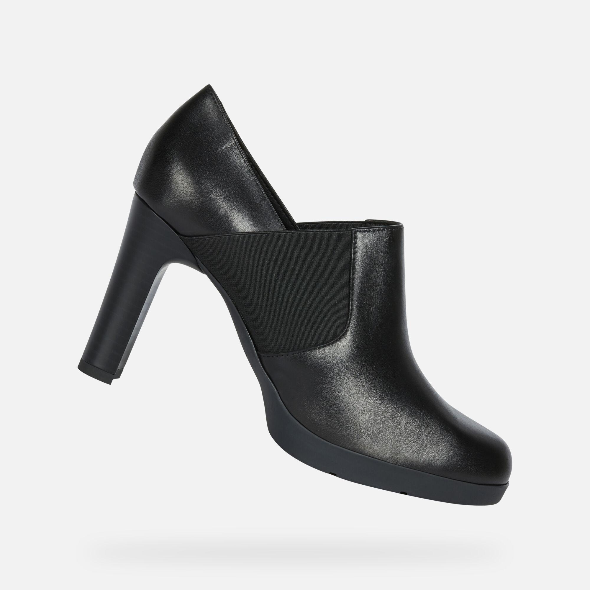 chaussures noirs talon geox