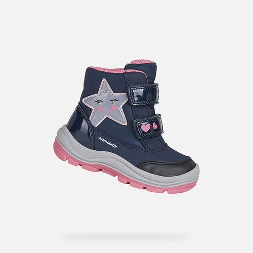 LIGHT-UP SHOES BABY GEOX FLANFIL ABX GIRL - null