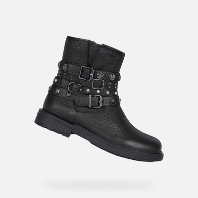 DEMI-BOTTES FILLE GEOX ECLAIR FILLE